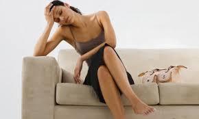 mulher cansada